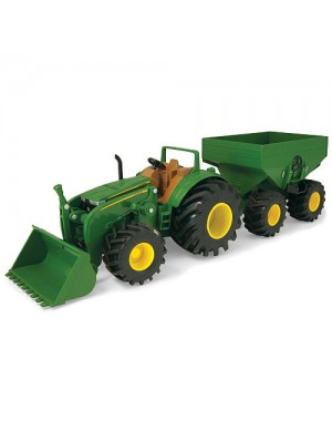 MONSTER JOHN DEERE CON VAGON 16""